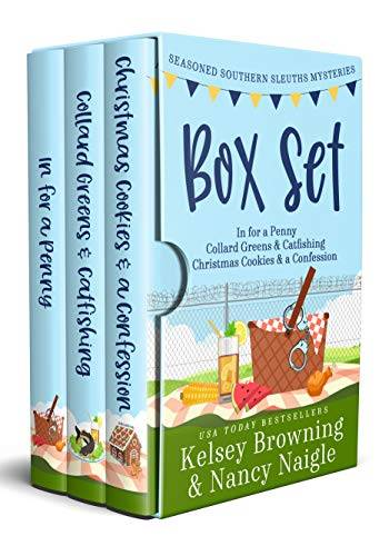 Seasoned Southern Sleuths Box Set 1: Culinary Cozy Mystery Series (Seasoned Southern Sleuths Cozy Mystery Box Sets)
